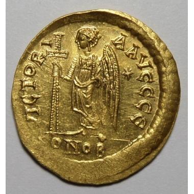 Анастасий I 491-518 гг. Константинополь. Солид.