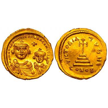 Ираклий и Ираклий Константин. Солид. 610-641