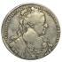 1 рубль 1734 года. Царственный портрет