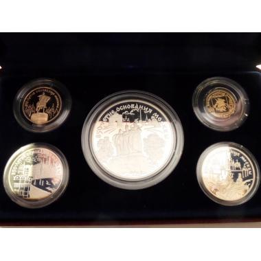 Набор монет 850 лет Москве